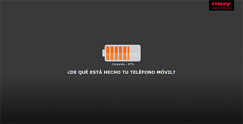 Infografía teléfono móvil