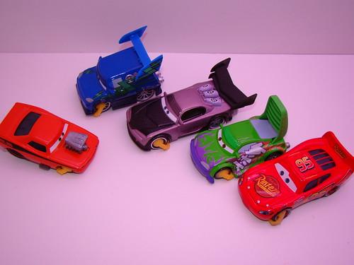 Disney CARS Impound Chase Crew