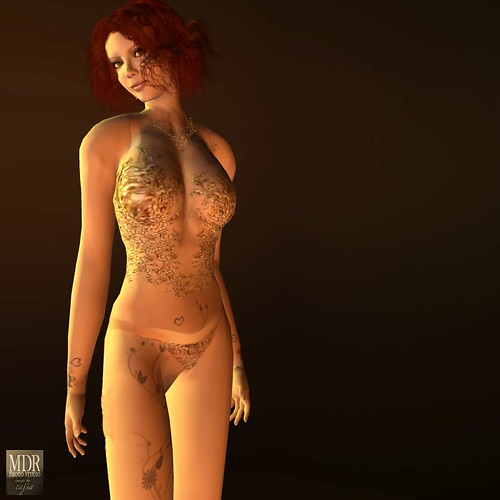 Chic Boutiques Artemis lingerie seemed a perfect choice for Lydia, the Tattooed Lady.