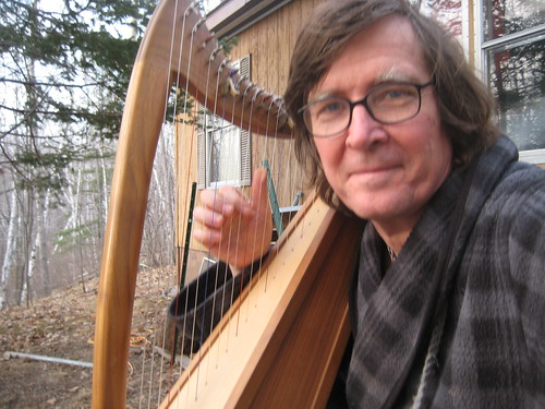 I got my lap harp as a 40th birthday gift and took lessons for a while.