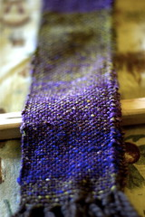 My first woven scarf