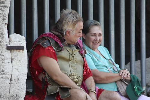 """Ever date a gladiator?"""