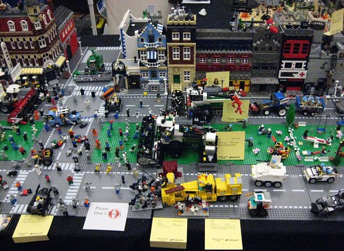 Lego Zombie Apocalypse at Brickcon 2009