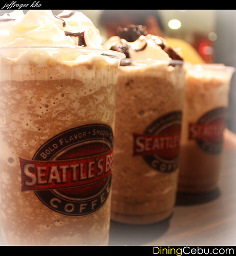 Seattle's Best at The Terraces Ayala Cebu Philippines