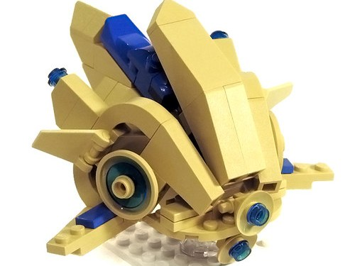 Starcraft 2 Lego Protoss Probe