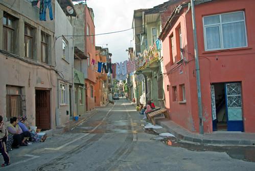 Balat streets, istanbul, pentax k10d