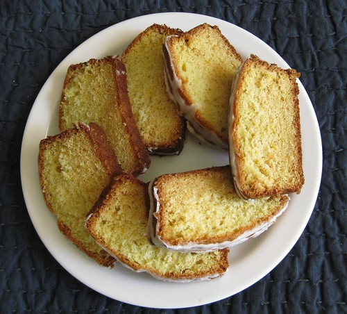 Nigella Pound Cake Slices