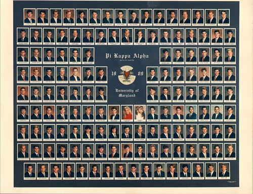 Pi Kappa Alpha at University of Maryland 1989