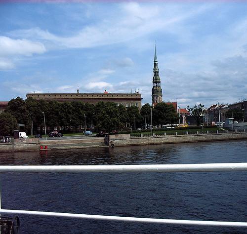 Riga, seen from the Water. Photo: Ulla Hennig