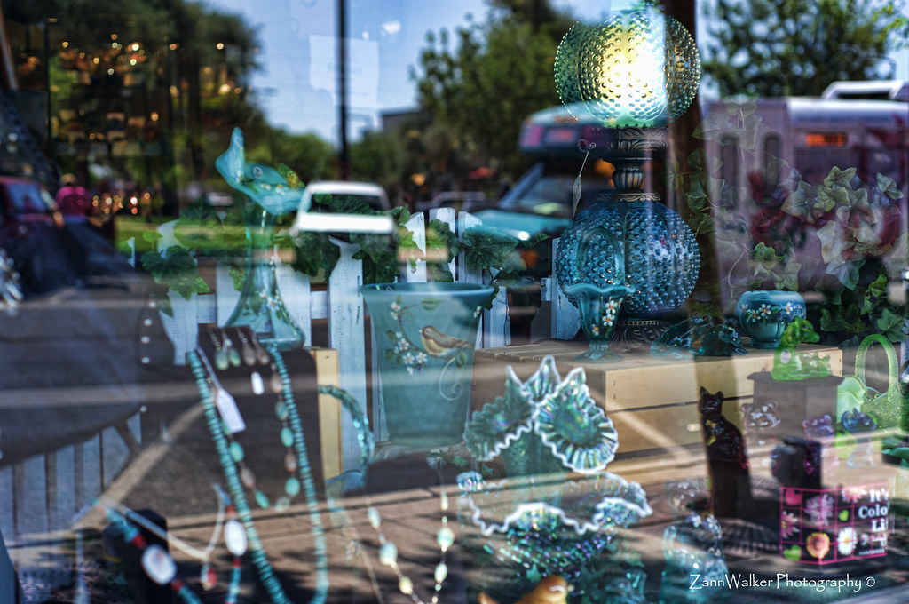 Street Reflections on Antiques