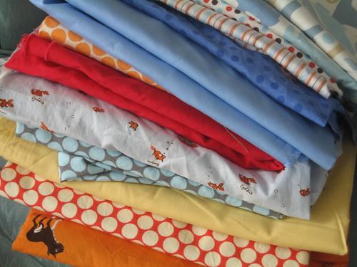 Fabrics for Quilt