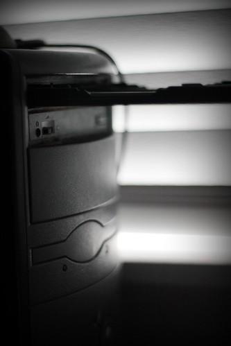 Backlit desktop