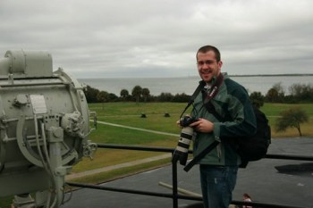 Me at Ft. Moultrie, S.C.