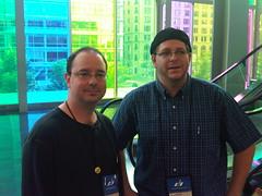Tobias Buckell and John Scalzi