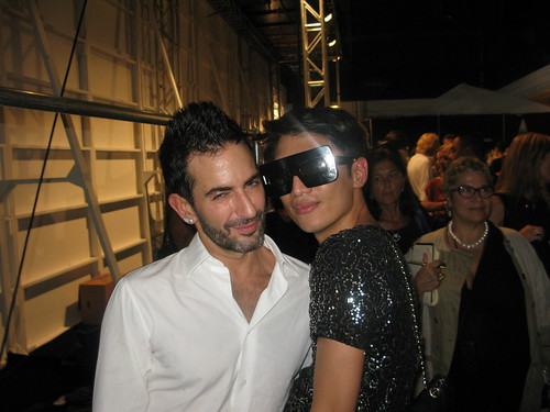 Marc Jacobs and Bryanboy
