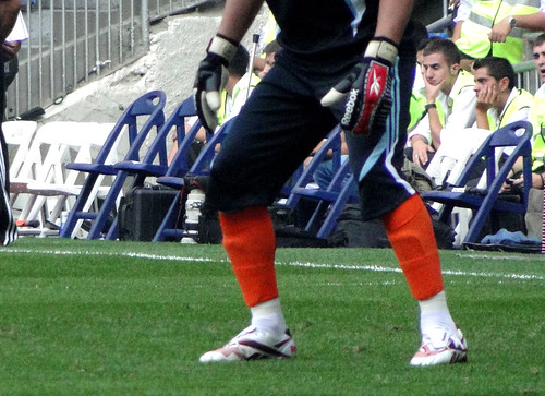 Iker boots and soccer gloves