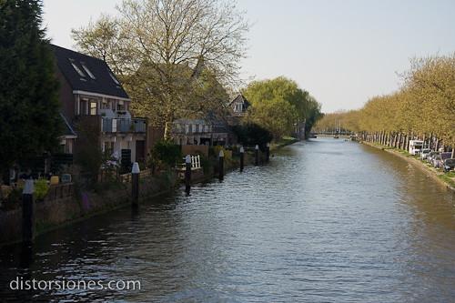 Sobre el Delftsche Vliet