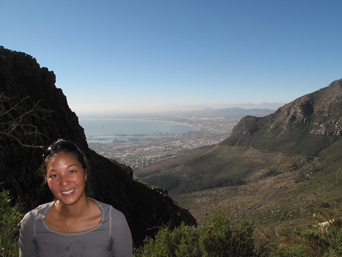 The View of Cape Town from Table Mountain