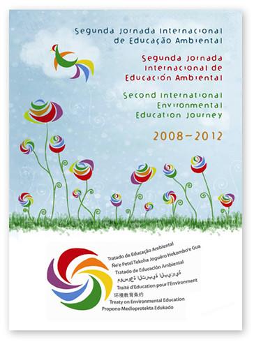 Capa do Folder para Segunda Jornada Internacional de Educação Ambiental