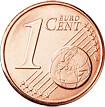1 céntimo cara común