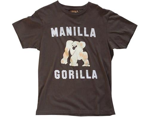 Manilla Gorilla T-Shirt by WornBy (Muhammad Ali) by Mr. Fresh.