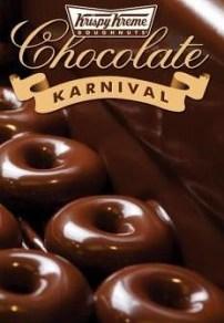 Krispy Kreme Chocolate Doughnut