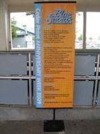 Cedar Point - Blue Streak Anniversary Week Sign