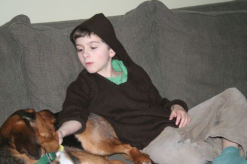 A Boy and His Dog in the Afternoon 2
