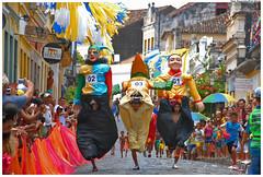 Corrida dos Bonecos Gigantes em 2009. Foto: Passarinho/Pref.Olinda