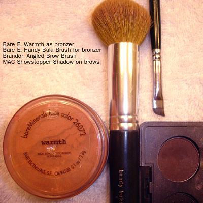 BareMinerals Warmth - Brow Brush - MAC Showstopper