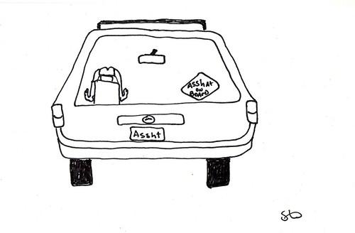 Asshat on Board