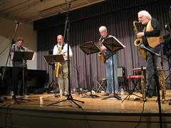 Rova Saxophone Quartet 1
