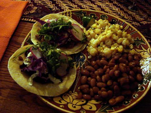 Dinner:  August 29, 2009