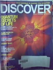 Discover magazine/ Feb 2009