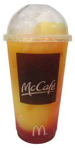 McDonald's McCafe Frozen Strawberry Lemonade