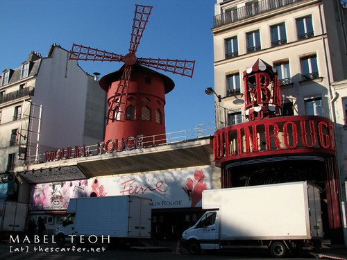 Ahah, Moulin Rouge at the end/beginning (depends on where you started) of Pigalle