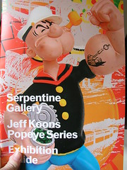 Jeff Koons: Popeye Series, Serpentine Gallery, London, 2009