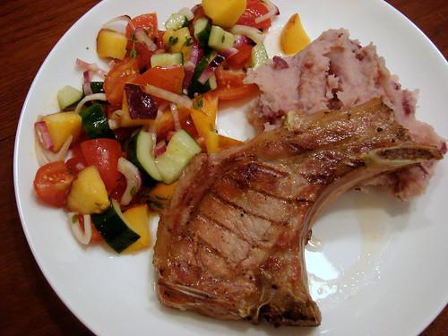Dinner:  August 7, 2009
