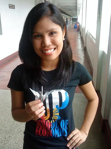 Paper Crane #12   Inna Morillo, 4th Year BS Economics, School of Economics Student Council Chairperson