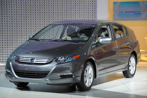 The 2010 Insight. Better than the Prius in some things, worse than it in others.