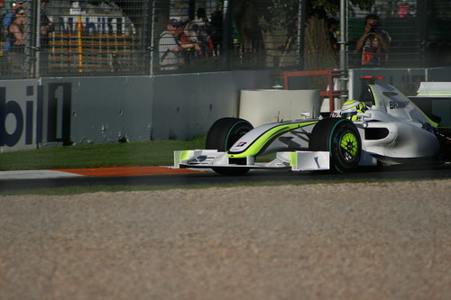Jenson Button Brawn GP by cbc888.