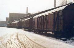 Novy Jičin in south Goods depot  March 1992