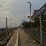 Bahnhof Lübeck Travemünde Skandinavienkai