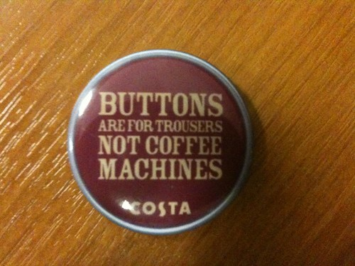 Costa Coffee button