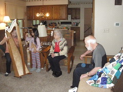 Playing Music for Grandparents