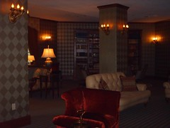 Library in the West Baden Springs Hotel