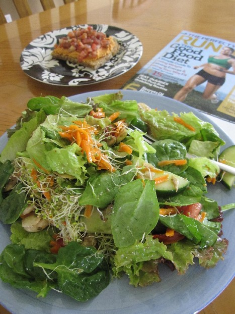 Alison Says Eat a Salad for Lunch