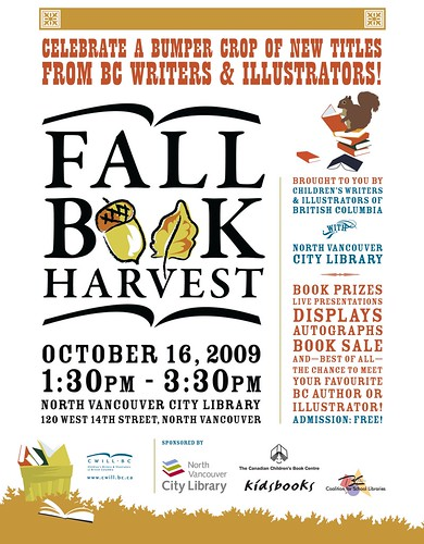 CWILL BC Fall Book Harvest 2009 poster