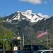 Snow Capped Mountain in Logan Ut