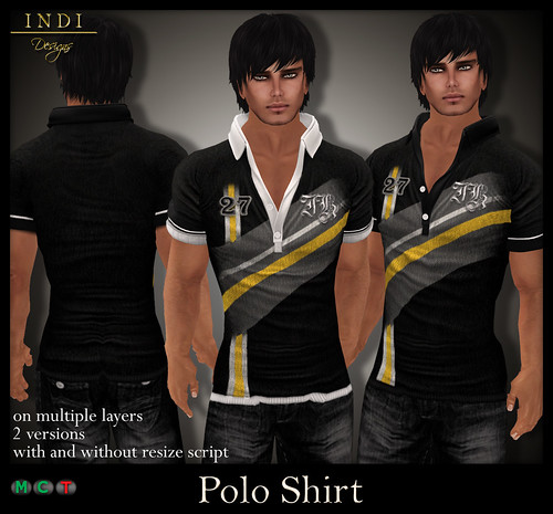 Polo-Shirt-V1-black-yellow